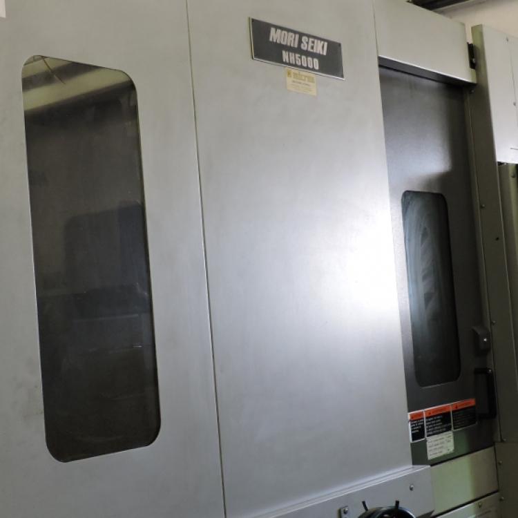MORI SEIKI NH-5000 - Centro di lavoro orizzonatale con due pallet