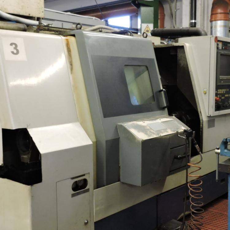 MORI SEIKI SL-25 - Tornio CNC tornibile Ø360 lunghezza 600