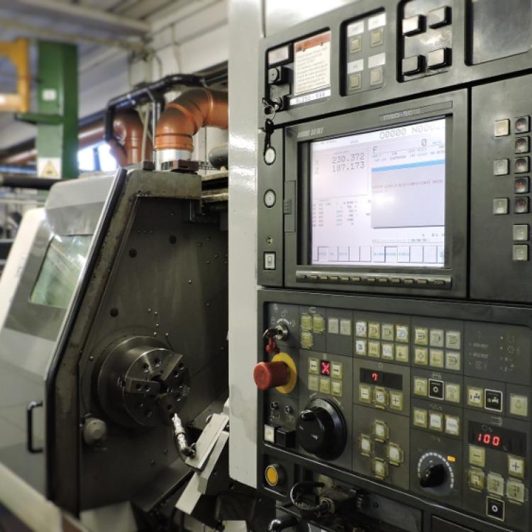 MORI SEIKI SL-250 - Tornio CNC tornibile Ø250 lunghezza 1050